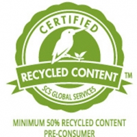 recycled content badge