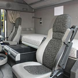 interior of a vehicle